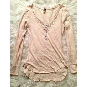 Free People We the Free Long Sleeve T Shirt